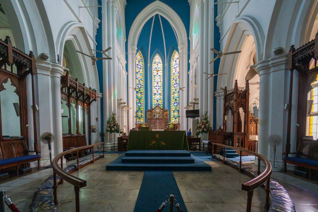 St. Andrew's von innen